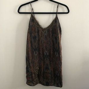 Urban Outfitters Multicolor Slip Dress
